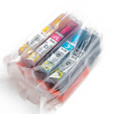 CLI-251 Refillable ARC Ink Cartridges for Canon MG5420 MX922 + More - AUTO RESET