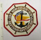 US NAVY SHIP USS NEW DD-818 PATCH Original