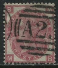 GB Used Abroad Malta A25 on 1867 3d Plate 6 MB