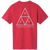 HUF Hologram Triple Triangle T-Shirt | Red