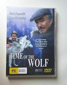 Time Of The Wolf DVD Jason Priestley - Burt Reynolds - Heartwarming Drama