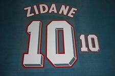 FIFA WORLD CUP 1998 France #10 ZIDANE Homekit Name Set Printing