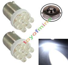 2 pcs T11 BA9 BA9S T4W 233 1895 H6W White Car 7 LED Side Light Lamp Bulb 12V DC