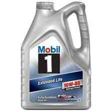 MOBIL 1 EXTENDED LIFE 10W-60 FULLY SYNTHETIC ENGINE OIL 5L - 151069 / 152109