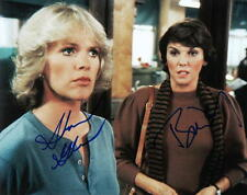 CAGNEY & LACEY.. Tyne Daly with Sharon Gless - SIGNED
