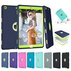 For Apple iPad 2 3 4 Air Mini Pro Tough Rubber Heavy Shockproof Hard Case Cover