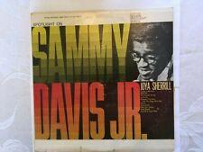 Spotlight On Sammy Davis Jr. and Joya Sherrill  circa 1962 Vinyl LP Record