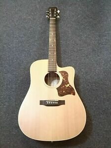 RECORDING KING ALL SOLID ACOUSTIC GUITAR RD-G9M-CFE4 - PRESYS EQ PRE AMP TUNER.