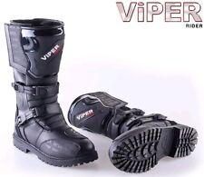 Viper 1056 trinquetes de protección de tobillo de arranque de Aventura Motocicleta Enduro UK Size 11