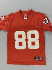 Kansas City Chiefs NFL Replica Screened Football Jersey (#88 Gonzalez) Yth Small