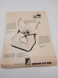 Pets Car Seat Belt Booster Travel Carrier Folding Johnson Pet-Dor  Pet Trav-ler
