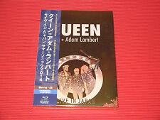 QUEEN ADAM LAMBERT LIVE IN JAPAN 2014   JAPAN BLU-RAY + CD SET Mirror Coat Case