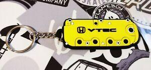 Honda Type R Old VTEC Style Rocker Key Anello Yellow EP2