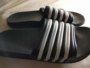 Mens Shoes Unbranded Size 7 UK Synthetic Black Flip Flops