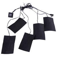 5 in 1 Elektrische USB Beheizte Pads Winter Kleidung Thermische Heizkissen