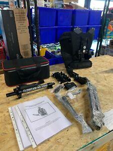 Flowcam HD 2000 Camera Steadycam + Arm Vest Stabilization system + Quick Release
