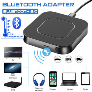 HD Bluetooth 5.0 Transmitter Receiver Audio Optical Cordless Adapter HD for TV