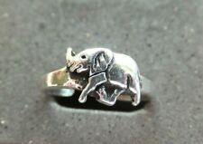 *Bn* lovely Elephant design *solid, sturdy ring* New listing Solid Silver Toe Ring X 1;