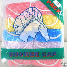 10 SHOWER CAPS (ONE PACK)  ADULT