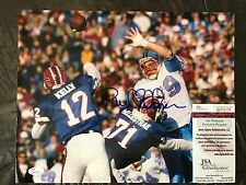 Houston Oilers Ray Childress Signed 11X14 PHOTO  with JSA/COA
