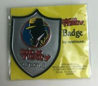 Vintage Dick Tracy Detective Pin Button Badge - 90's Disney Applause