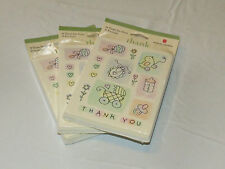 American Greetings 3 packs of 10 Thank you Cards baby cards#