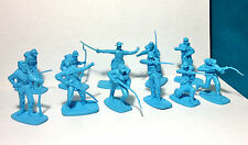 Civil War 54mm Toy Soldiers Union ACW 14th NY Zouaves Butternut & And Blue 1/32