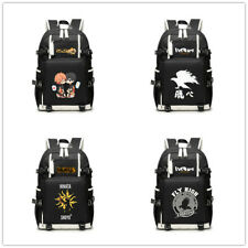 Haikyuu!! Karasuno Koukou canvas backpack school bag travel laptop sport bags