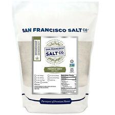 Fresh French Grey Sea Salt 10 lb Bag Fine Grain Sel Gris San Francisco Salt Co_