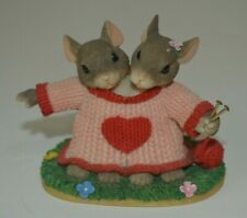Charming Tails We're a Perfect Fit Figurine by Fitz and Floyd 84/111