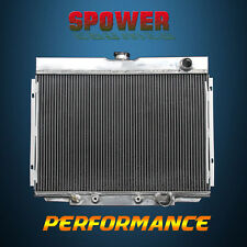 3-Rows/CORE Aluminum Radiator For Ford Mustang 68-69 Mercury Cougar 67-70 V8