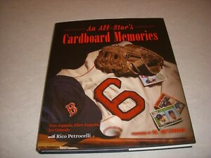 AN ALL-STAR'S CARDBOARD MEMORIES by ZAPPALA AND ORLANDO, PSA BOOK, HB/DJ, 2018!