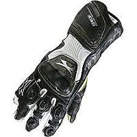 Spada Elite kangaroo Leather motorcycle Gloves Armoured Sport Race Black/White