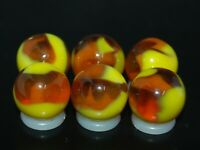 SIX PACK Jabo Classic  Marbles Collector Set Hard To Find Marbles KEEPERS L-911