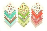 "Maywood Studios Pinwheels pre cut charm pack 5"" squares 100% cotton fabric quilt"