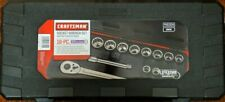 Craftsman 16 Pc SAE (Inch) 3/4 Inch Drive Socket Wrench Set w/ Case - New! CR