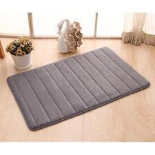 Memory Foam Rug Bathroom Bath Mat Bedroom Non-slip Mats Shower Carpet Gray #W