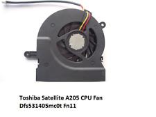 Internal Laptop Cooling Fan Toshiba Satellite A200 A205 A210 A215
