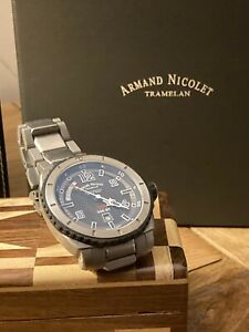 Armand Nicolet S05 Mens Swiss Made Automatic Day Date Watch