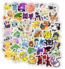 Pokemon Stickers 50 Sticker Pack set lot New