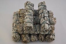 "California White Sage Smudge Incense 4""- 4 1/2"" Bundle (10 pcs)"