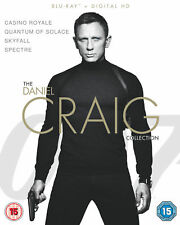 James Bond - The Daniel Craig Collection 4-Pack (Blu-Ray)