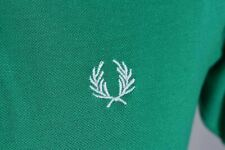 MEN'S FRED PERRY VINTAGE CLASSIC MOD SKINHEAD SHORT SLEEVE POLO SHIRT SIZE M L