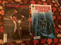 Stranger Things #1 Comic Cover A & Mike Variant Dark Horse 2 Comics NYCC NM NEW
