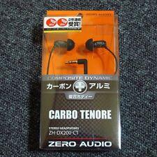 ZERO AUDIO ZH-DX200-CT Inner Ear Stereo Headphones CARBO TENORE New F/S