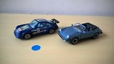 NZG MODELE - PORSCHE 911 CABRIOLET 1/43E + BURAGO PORSCHE 911 - 1/43E