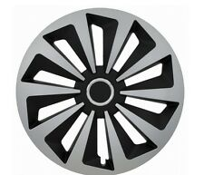 "SET OF 4 15"" WHEEL TRIMS,RIMS TO FIT FIAT GRANDE, PUNTO, QUBO, SCUDO + GIFT #H"