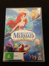 DISNEY'S The Little Mermaid - 2 Disc SE R4 DVD FREE POST