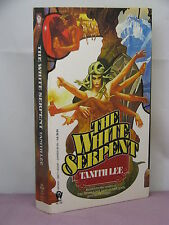 1st, signed by author, Wars of Vis 3: The White Witch by Tanith Lee* (1988)