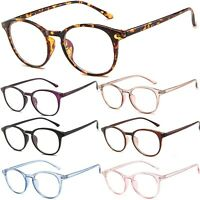 Clear Lens Fashion Glasses With Anti-Blue Light UV400 Lens